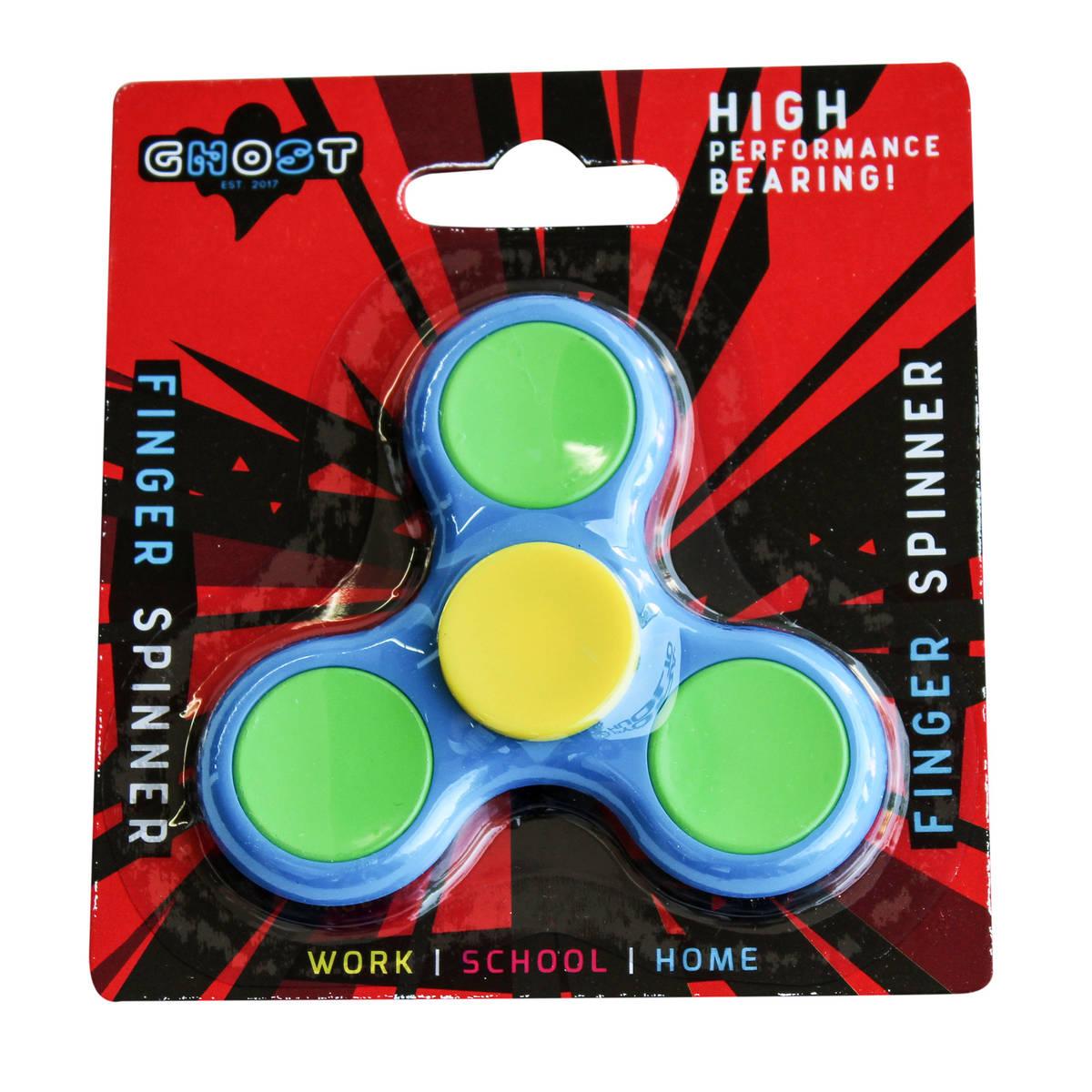 Fidget Spinner Blue / Green - Suksistudio.fi verkkokauppa