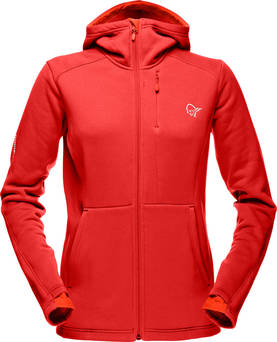 Narvik Warm2 Stretch Zip Hood (W) - Outlet - 5338-13-1225 - 1